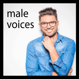 Male Voice Samples
